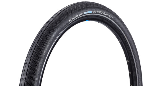 "SCHWALBE Big Apple Plus Opona Performance 26"" Twin drut Reflex czarny"
